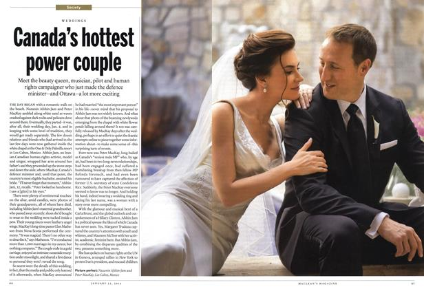 Article Preview: Canada's hottest power couple, January 2012 | Maclean's