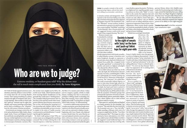 Article Preview: Who are we to judge?, January 2012 | Maclean's