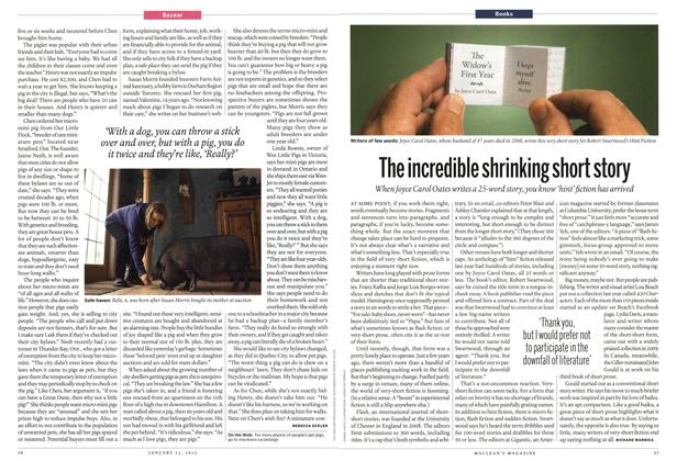 Article Preview: The incredible shrinking short story, January 2012 | Maclean's