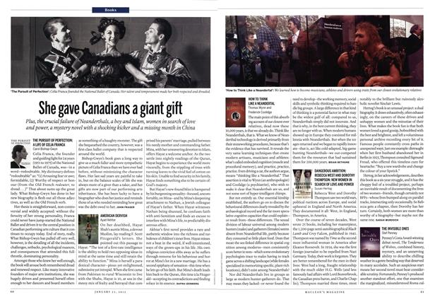 Article Preview: She gave Canadians a giant gift, January 2012 | Maclean's
