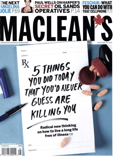 Issue: - January 2012 | Maclean's