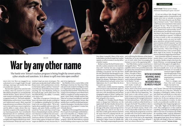 Article Preview: War by any other name, January 2012 | Maclean's