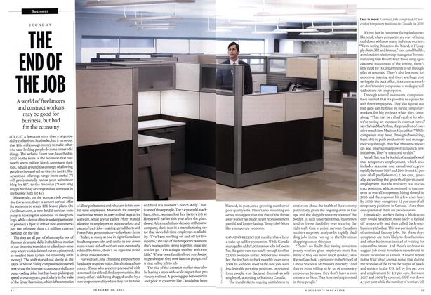 Article Preview: THE END OF THE JOB, January 2012 | Maclean's
