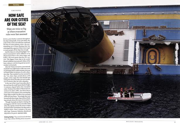 Article Preview: HOW SAFE ARE OUR CITIES OF THE SEA?, January 2012 | Maclean's
