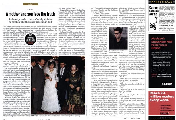Article Preview: A mother and son face the truth, January 2012 | Maclean's