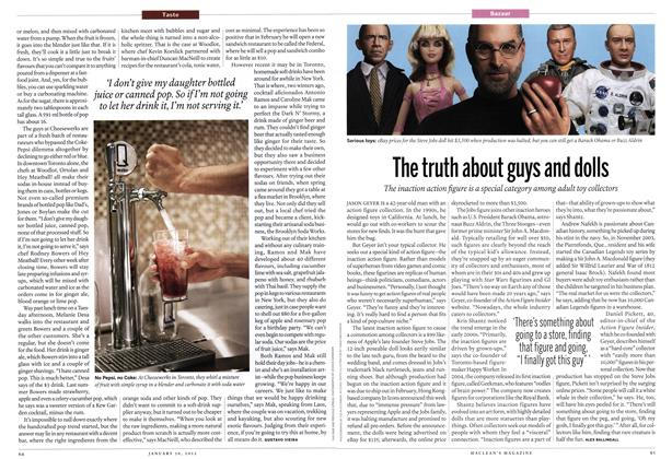 Article Preview: The truth about guys and dolls, January 2012 | Maclean's