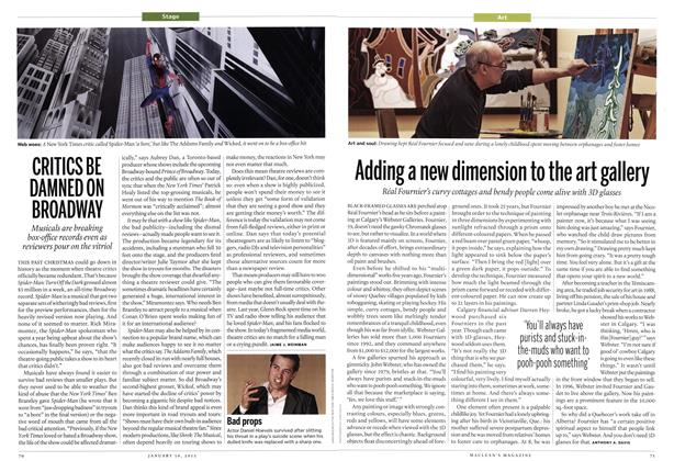 Article Preview: Adding a new dimension to the art gallery, January 2012 | Maclean's