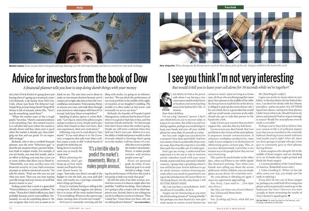 Article Preview: I see you think I'm not very interesting, January 2012 | Maclean's