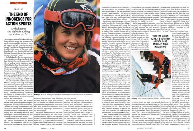 Article Preview: THE END OF INNOCENCE FOR ACTION SPORTS, February 2012 | Maclean's