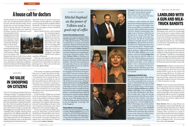 Article Preview: LANDLORD WITH A GUN AND MILKTRUCK BANDITS, February 2012 | Maclean's