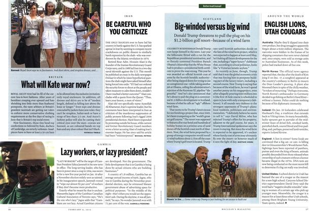 Article Preview: What will Kate wear now?, February 2012 | Maclean's