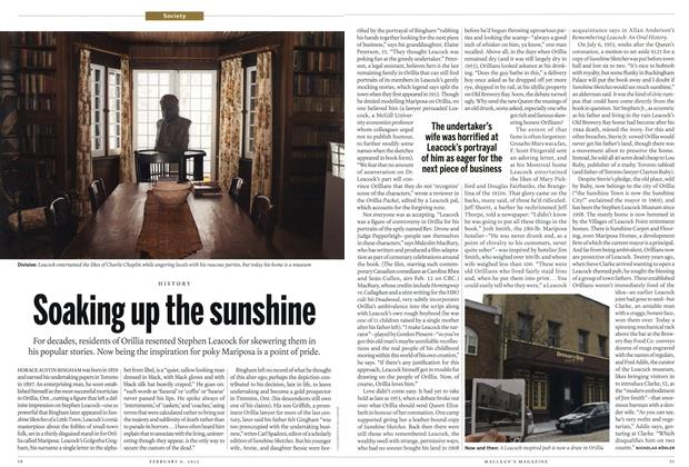 Article Preview: Soaking up the sunshine, February 2012 | Maclean's