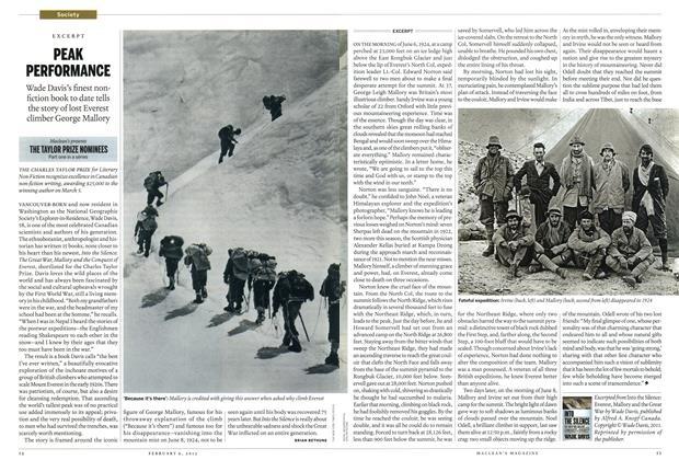 Article Preview: PEAK PERFORMANCE, February 2012   Maclean's