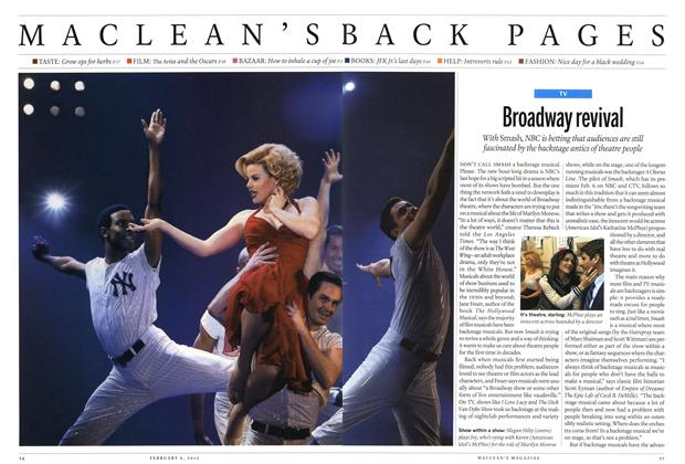 Article Preview: Broadway revival, February 2012 | Maclean's