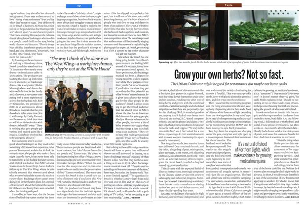 Article Preview: Grow your own herbs? Not so fast., February 2012 | Maclean's