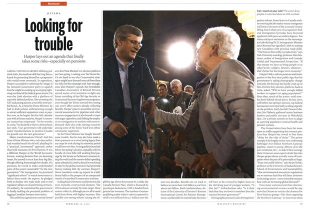Article Preview: Looking for trouble, February 2012 | Maclean's