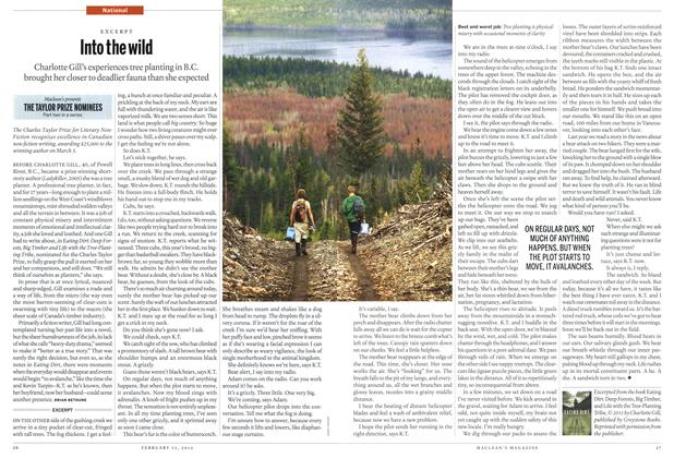 Article Preview: Into the wild, February 2012 | Maclean's