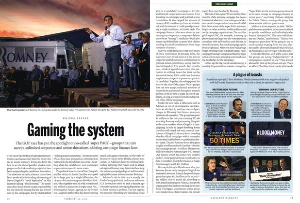 Article Preview: Gaming the system, February 2012 | Maclean's