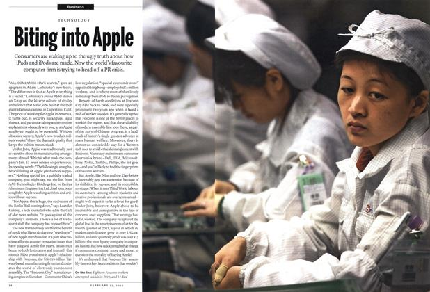 Article Preview: Biting into Apple, February 2012 | Maclean's