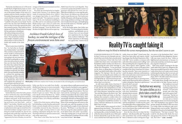 Article Preview: Reality TV is caught faking it, February 2012 | Maclean's
