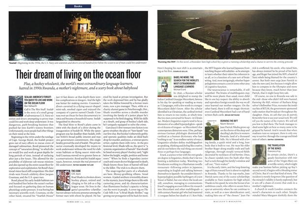 Article Preview: Their dream of living on the ocean floor, February 2012 | Maclean's