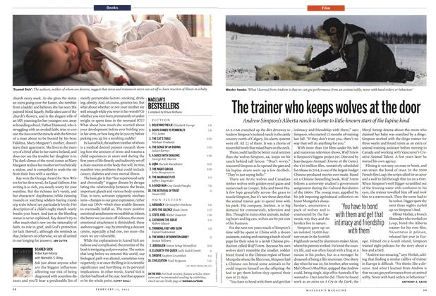 Article Preview: The trainer who keeps wolves at the door, February 2012 | Maclean's