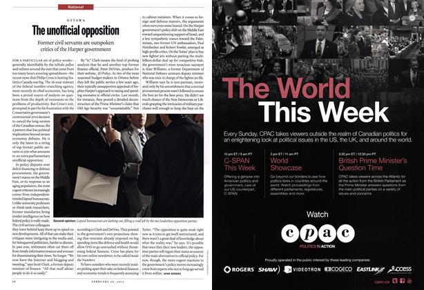 Article Preview: The unofficial opposition, February 2012 | Maclean's