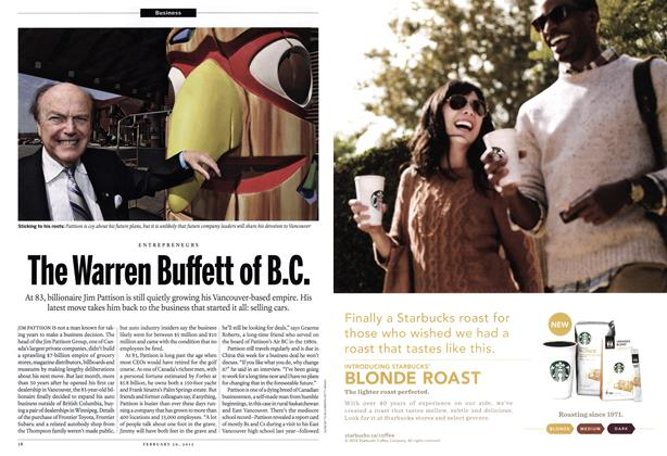 Article Preview: The Warren Buffett of B.C., February 2012 | Maclean's