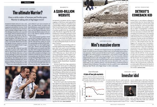 Article Preview: A $100-BILLION WEBSITE, February 2012 | Maclean's
