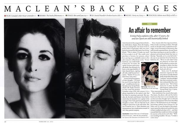 Article Preview: An affair to remember, February 2012 | Maclean's