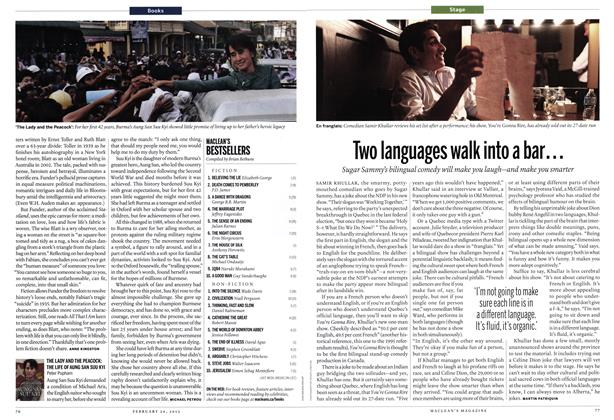 Article Preview: MACLEAN'S BESTSELLERS, February 2012 | Maclean's