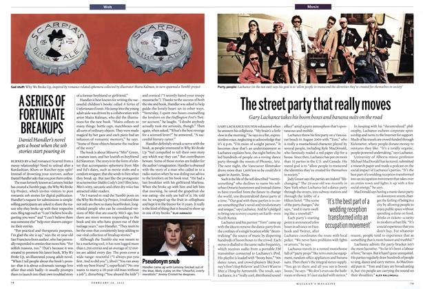 Article Preview: The street party that really moves, February 2012 | Maclean's