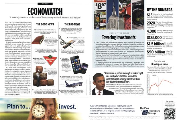 Article Preview: ECONOWATCH, February 2012 | Maclean's
