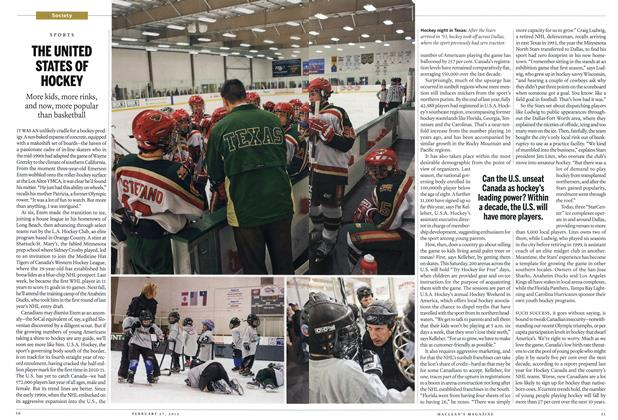Article Preview: THE UNITED STATES OF HOCKEY, February 2012 | Maclean's