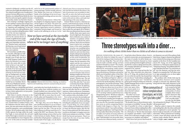 Article Preview: Three stereotypes walk into a diner..., February 2012 | Maclean's