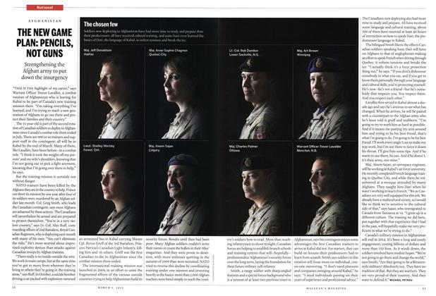 Article Preview: THE NEW GAME PLAN: PENCILS, NOT GUNS, March 2012 | Maclean's