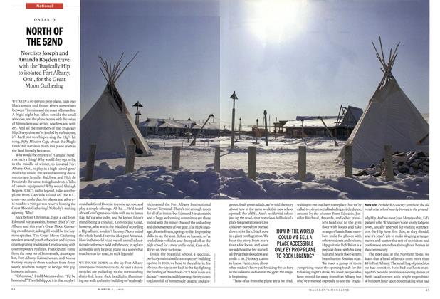 Article Preview: NORTH OF THE 52ND, March 2012 | Maclean's