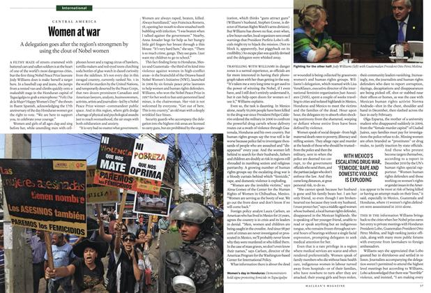 Article Preview: Women at war, March 2012 | Maclean's