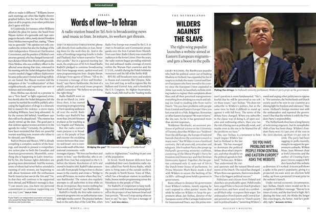 Article Preview: WILDERS AGAINST THE SLAVS, March 2012 | Maclean's