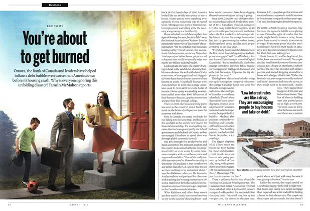 Article Preview: You're about to get burned, March 2012 | Maclean's