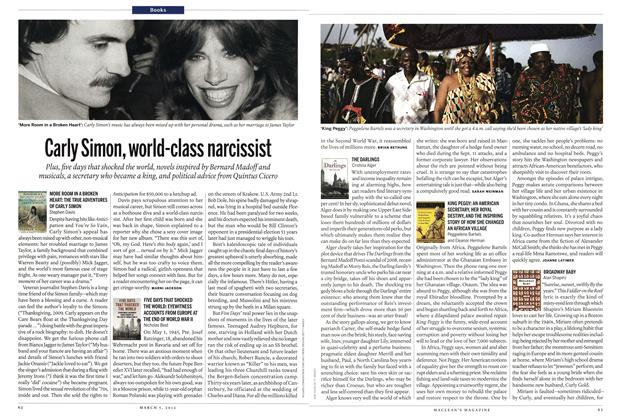 Article Preview: Carly Simon, world-class narcissist, March 2012 | Maclean's