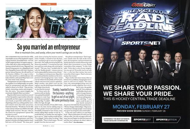 Article Preview: So you married an entrepreneur, March 2012 | Maclean's