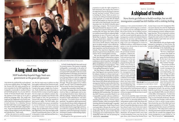 Article Preview: A long shot no longer, March 2012 | Maclean's