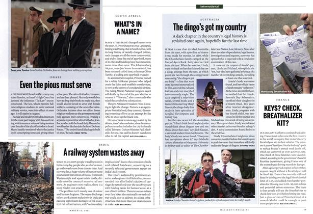 Article Preview: Even the pious must serve, March 2012 | Maclean's