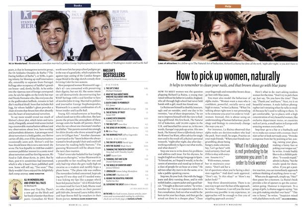 Article Preview: How to pick up women, naturally, March 2012 | Maclean's