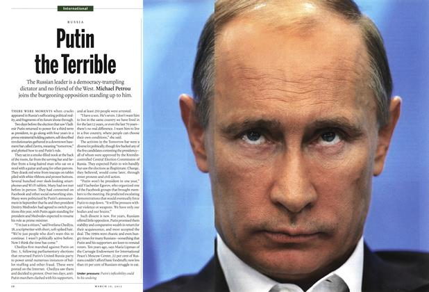Article Preview: Putin the Terrible, March 2012 | Maclean's