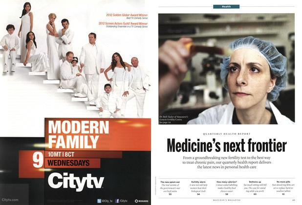 Article Preview: Medicine's next frontier, March 2012 | Maclean's