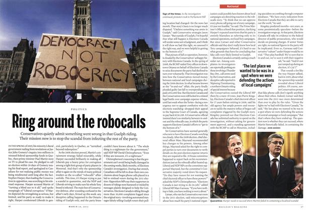 Article Preview: Ring around the robocalls, March 2012 | Maclean's