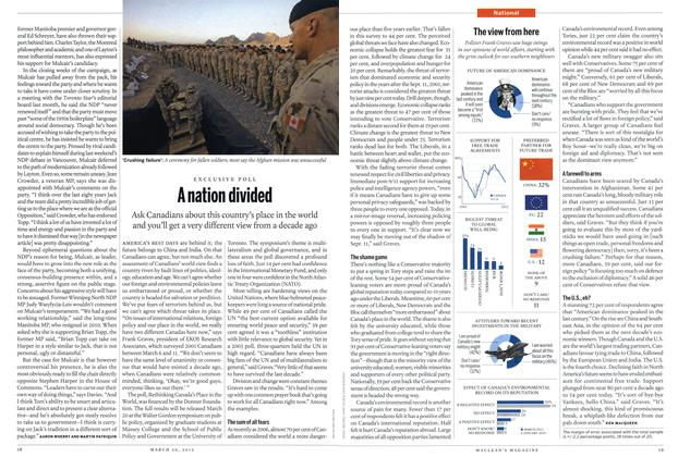 Article Preview: A nation divided, March 2012 | Maclean's