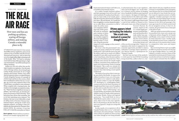 Article Preview: THE REAL AIR RAGE, March 2012 | Maclean's